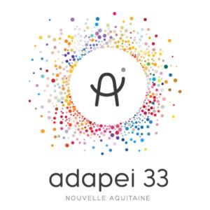ADAPEI 33 - Nouvelle Aquitaine (Logo)