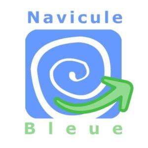 NAVICULE BLEUE (Logo)