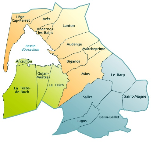 Carte du BARVAL