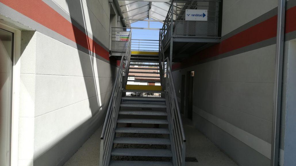Escalier SAVS (Photo)